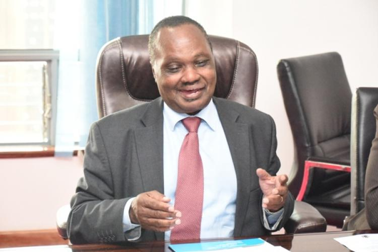 VC Prof. Isaac Mbeche