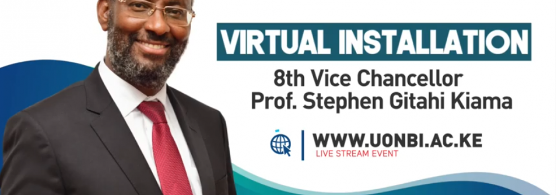 Installation of the 8th Vice-Chancellor of the University of Nairobi